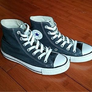 High top Black Converse All Star